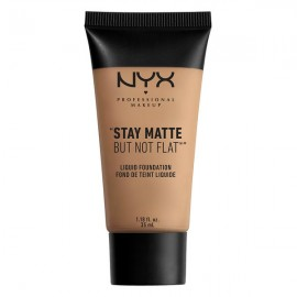 Stay Matte but not flat Fond de teint Sienna - NYX