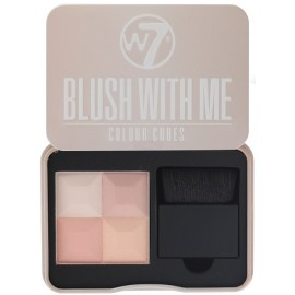 BLUSH WITH ME CUBES BLUSHER PALETTE - W7
