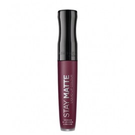 STAY MATTE Liquid lip colour Midnight 800 - RIMMEL