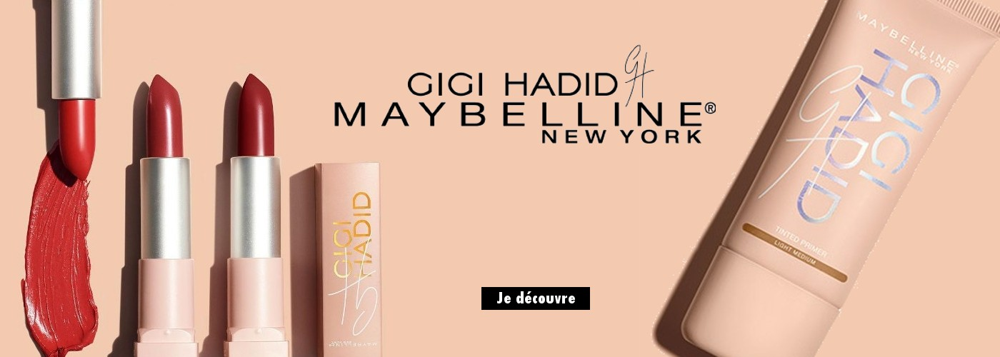 Collection exclusive en collaboration avec it-girl Gigi Hadid !